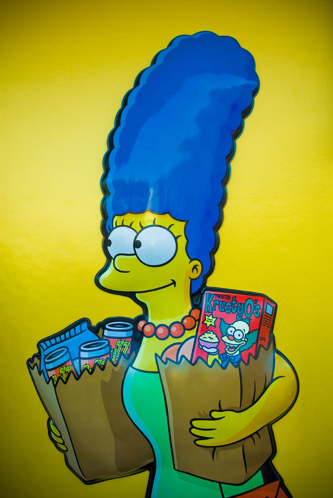 Marge Simpson good enough parent